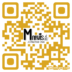 QR code with logo 1xMV0
