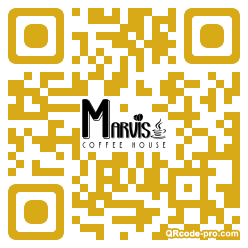 QR code with logo 1xMn0
