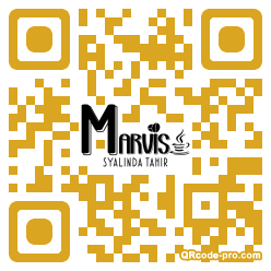 QR code with logo 1xNd0