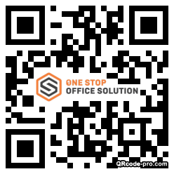 QR code with logo 1xTe0