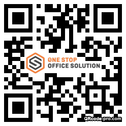 QR code with logo 1xTu0
