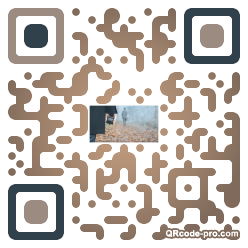 QR code with logo 1xd40