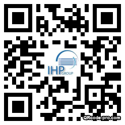 QR code with logo 1xd50