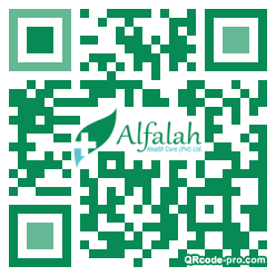 QR code with logo 1y8P0