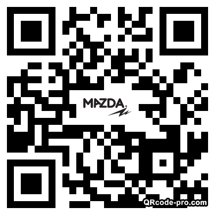 QR code with logo 1z490