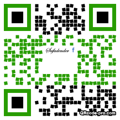 QR code with logo 1z4P0