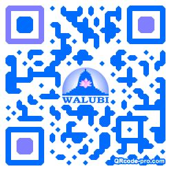 QR code with logo 1z5D0