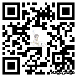 QR code with logo 1z8P0