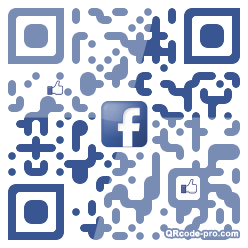 QR code with logo 1zBx0