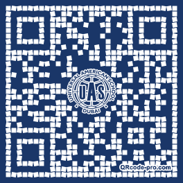 QR code with logo 1zF30