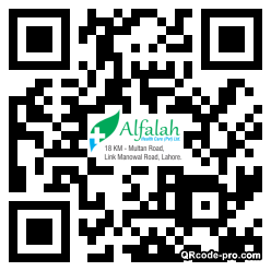QR code with logo 1zMA0
