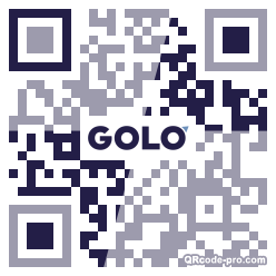 QR code with logo 1zPC0