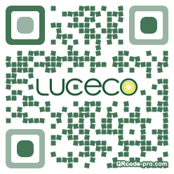 QR code with logo 1zSu0