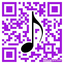 QR code with logo 1zVB0