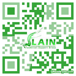 QR code with logo 1zfr0