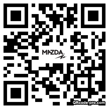 QR code with logo 1zmv0