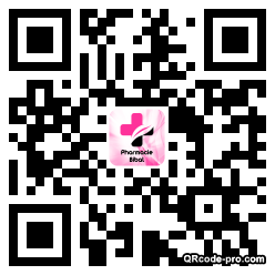 QR code with logo 1znA0