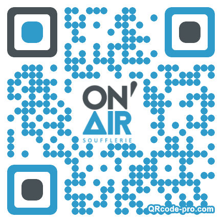 QR code with logo 1zo90