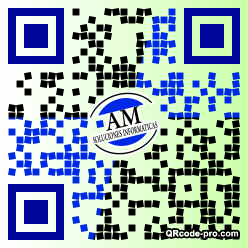 QR code with logo 20400