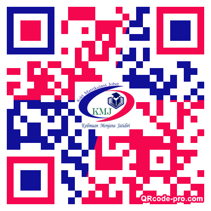 QR code with logo 205P0