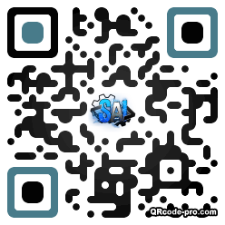 QR code with logo 205Z0