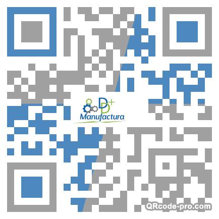 QR code with logo 205h0