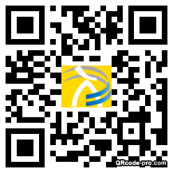 QR code with logo 20Hr0