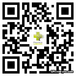 QR code with logo 20R30