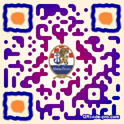 QR code with logo 20R70