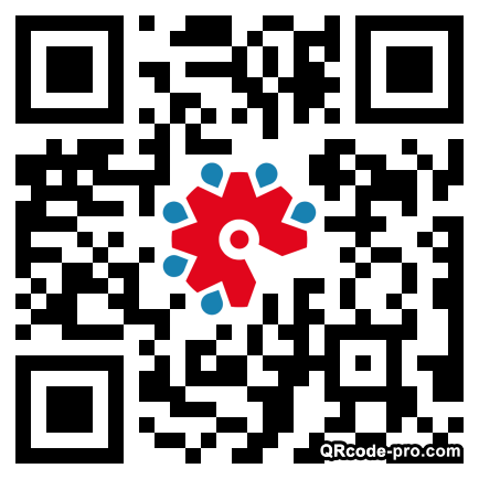 QR code with logo 20Ti0