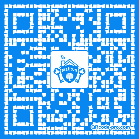 QR code with logo 20Tv0