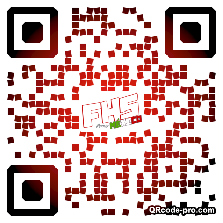 QR code with logo 20ZC0