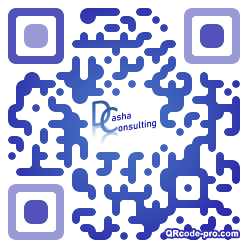 QR code with logo 20cm0