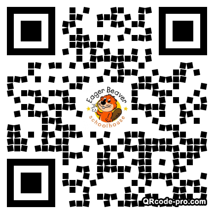QR code with logo 20m40