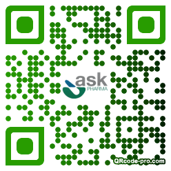 QR code with logo 20mM0