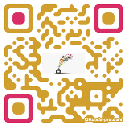 QR code with logo 20wv0