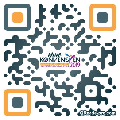 QR code with logo 21140