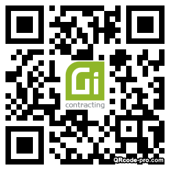 QR code with logo 21170