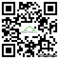 QR code with logo 21370
