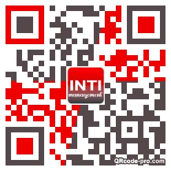 QR code with logo 215N0