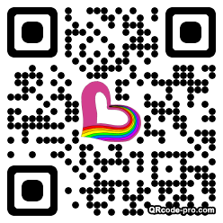 QR code with logo 217P0