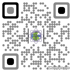 QR code with logo 21920