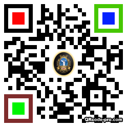 QR code with logo 21930