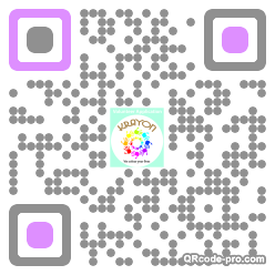 QR code with logo 21BJ0