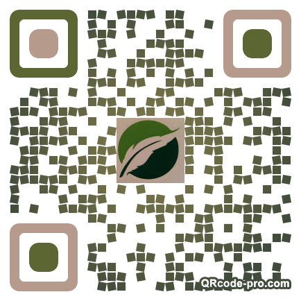 QR code with logo 21Bs0