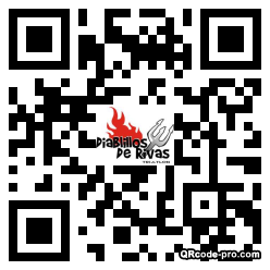 QR code with logo 21Cx0