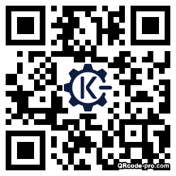QR code with logo 21DR0