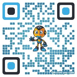 QR code with logo 21Ez0