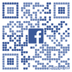 QR code with logo 21Hb0
