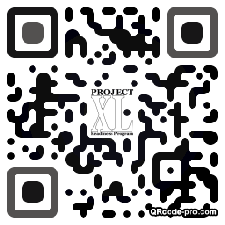 QR code with logo 21Hq0